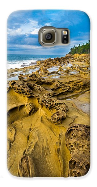 Shore Acres Sandstone Galaxy S6 Case by Robert Bynum