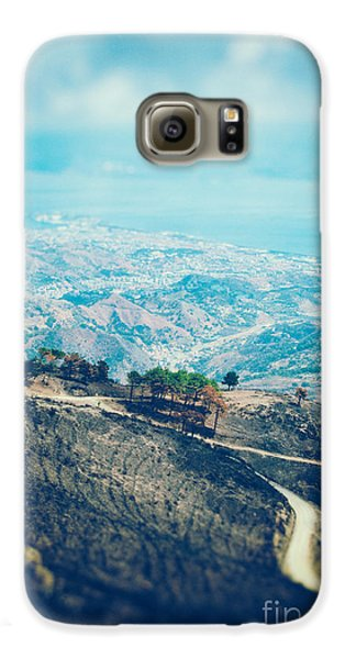 Galaxy S6 Case featuring the photograph Sicilian Land After Fire by Silvia Ganora