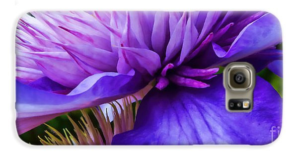 Side View Clematis Galaxy S6 Case