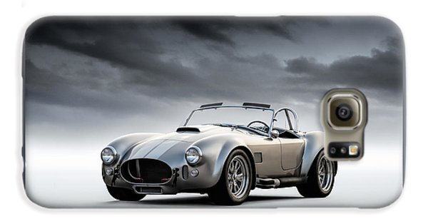 Silver Ac Cobra Galaxy S6 Case
