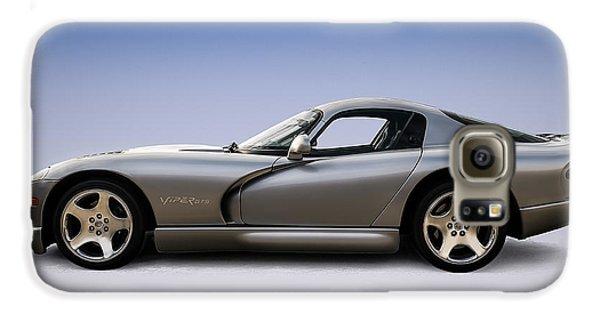 Silver Viper Galaxy S6 Case by Douglas Pittman