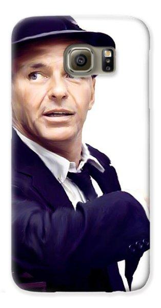 Sinatra.  Frank Sinatra Galaxy S6 Case by Iconic Images Art Gallery David Pucciarelli