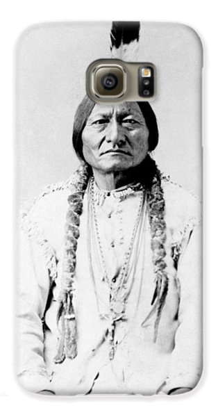 Bull Galaxy S6 Case - Sioux Chief Sitting Bull by War Is Hell Store