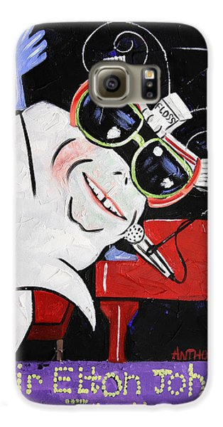 Sir Elton John Tooth  Galaxy S6 Case by Anthony Falbo