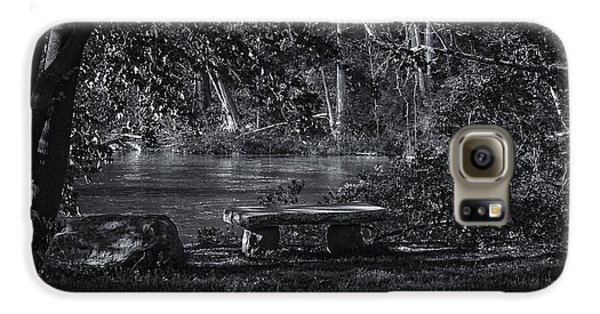 Galaxy S6 Case featuring the photograph Sit And Ponder by Mark Myhaver
