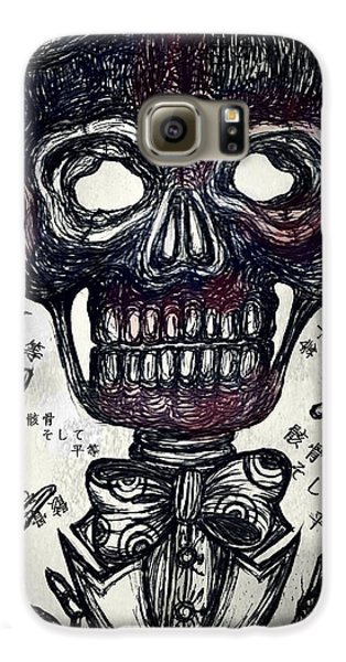 Skull And Equality Galaxy S6 Case by Akiko Okabe