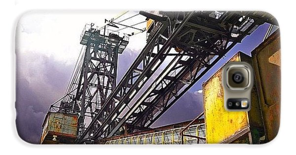 Detail Galaxy S6 Case - #sky #architecture #industrie #summer by Phil Grubers