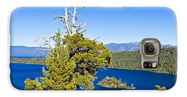 Sky Blue Water - Emerald Bay - Lake Tahoe Galaxy S6 Case
