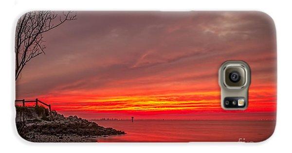 Sky Fire Galaxy S6 Case