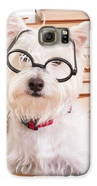 Smart Doggie Galaxy S6 Case by Edward Fielding