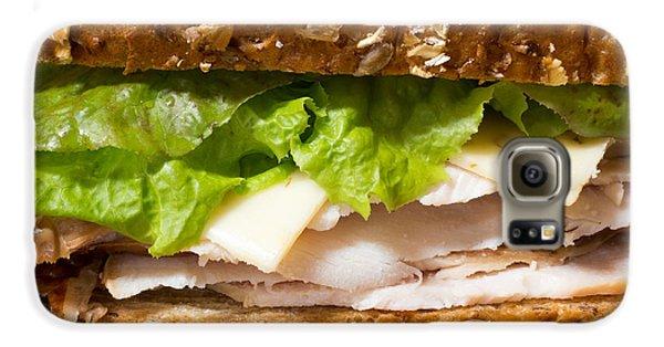 Smoked Turkey Sandwich Galaxy S6 Case by Edward Fielding
