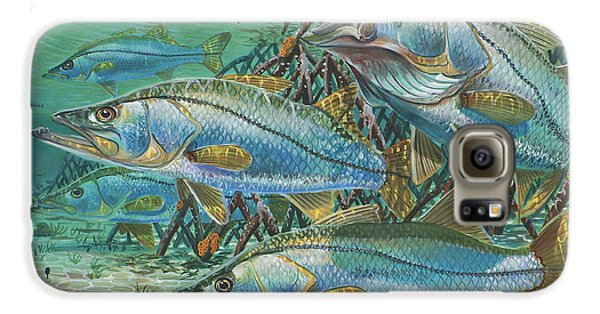 Mangrove Galaxy S6 Case - Snook Attack In0014 by Carey Chen
