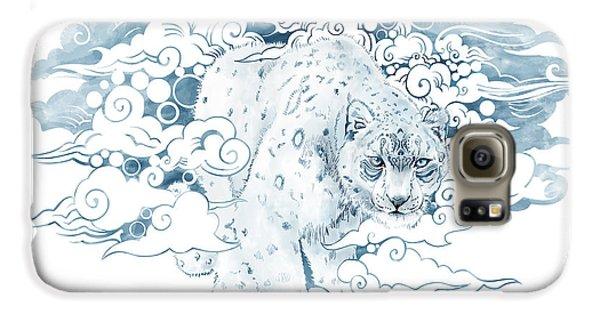 Leopard Galaxy S6 Case - Ghost Cat by Sassan Filsoof