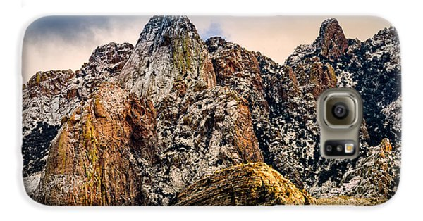 Galaxy S6 Case featuring the photograph Snow On Peaks 45 by Mark Myhaver