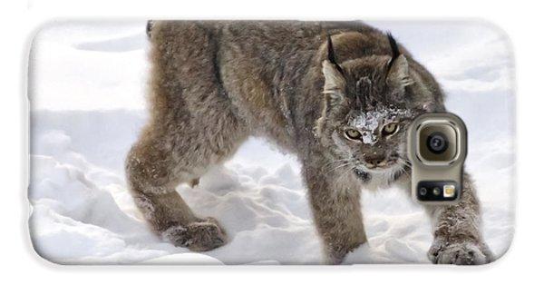 Snow-shovelling Lynx Galaxy S6 Case