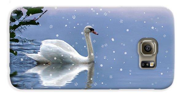 Snow Swan  Galaxy S6 Case