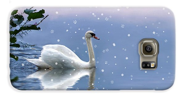 Snow Swan  Galaxy S6 Case