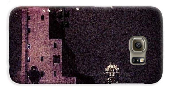 Light Galaxy S6 Case - Snowy Night  by Heidi Hermes