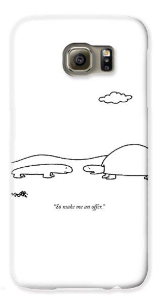 So Make Me An Offer Galaxy S6 Case