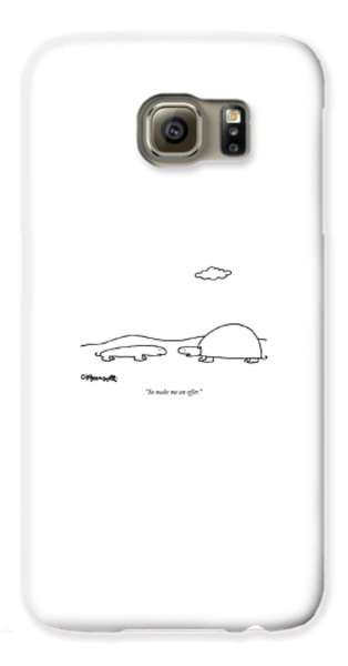 Salamanders Galaxy S6 Case - So Make Me An Offer by Charles Barsotti