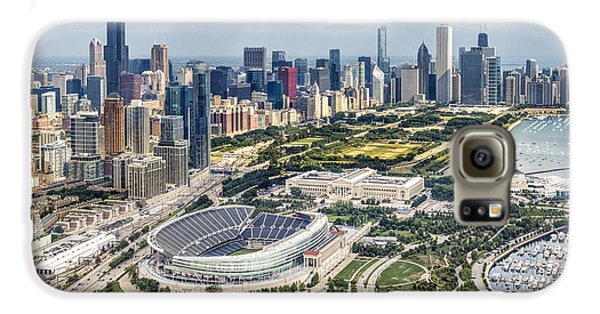 Soldier Field And Chicago Skyline Galaxy S6 Case