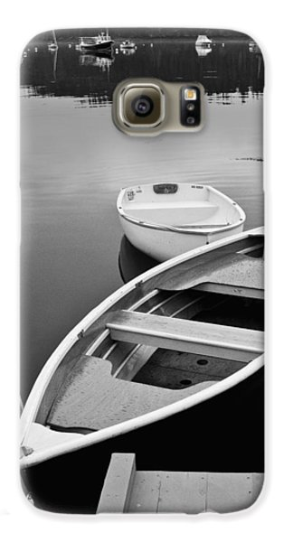 Sorrento Harbor Boats Galaxy S6 Case by Bill Barber