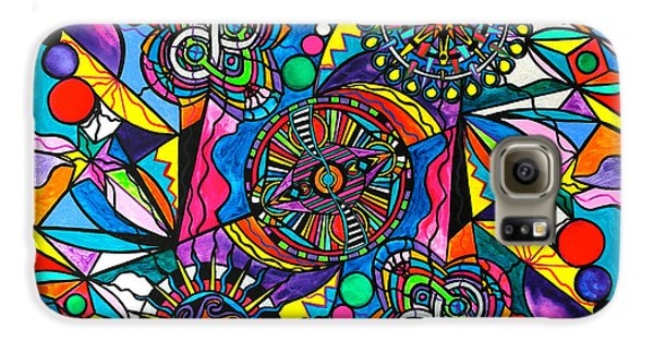 Swan Galaxy S6 Case - Soul Retrieval by Teal Eye  Print Store