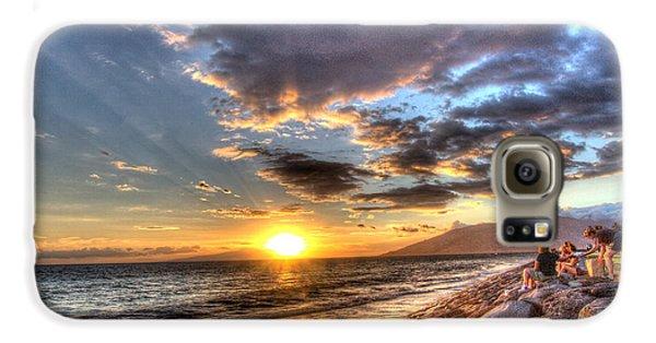 South Kihei Sunset Galaxy S6 Case
