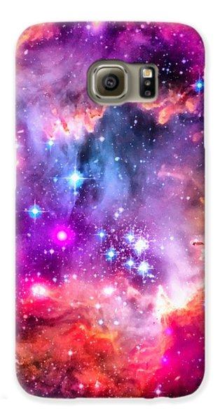 Space Image Small Magellanic Cloud Smc Galaxy Galaxy S6 Case by Matthias Hauser