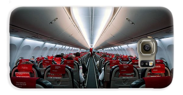 Airplanes Galaxy S6 Case - Space Travel by Sebastian-alexander Stamatis