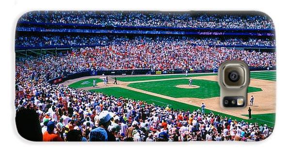 Spectators In A Baseball Stadium, Shea Galaxy S6 Case
