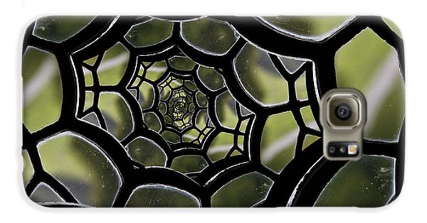 Galaxy S6 Case featuring the photograph Spider's Web. by Clare Bambers