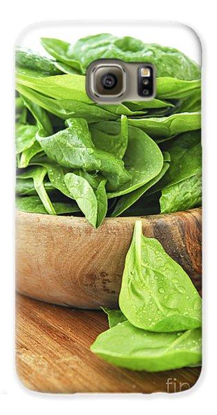 Spinach Galaxy S6 Case by Elena Elisseeva