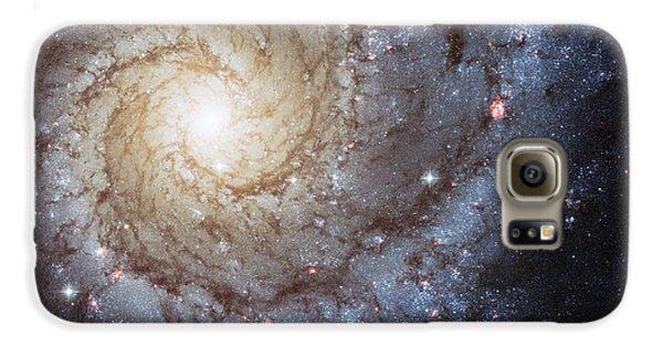 Spiral Galaxy M74 Galaxy S6 Case