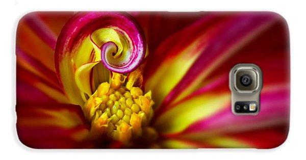 Spiral Galaxy S6 Case
