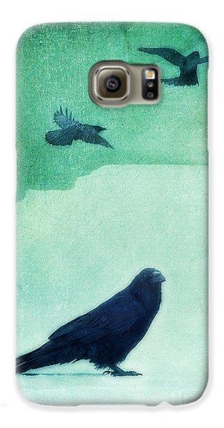 Spirit Bird Galaxy S6 Case by Priska Wettstein