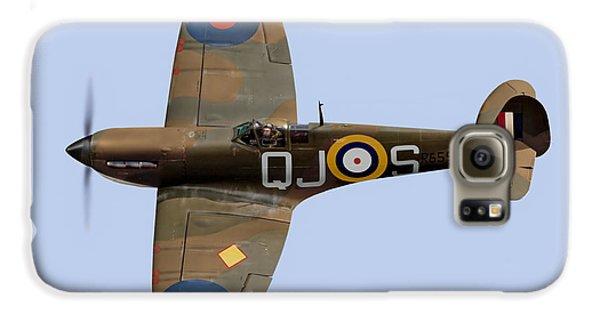 Spitfire Mk 1 R6596 Qj-s Galaxy S6 Case by Gary Eason