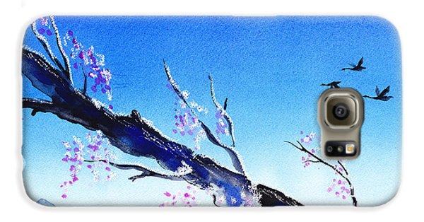 Spring In The Mountains Galaxy S6 Case by Irina Sztukowski