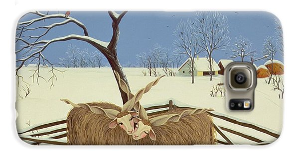 Yak Galaxy S6 Case - Spring In Winter by Magdolna Ban