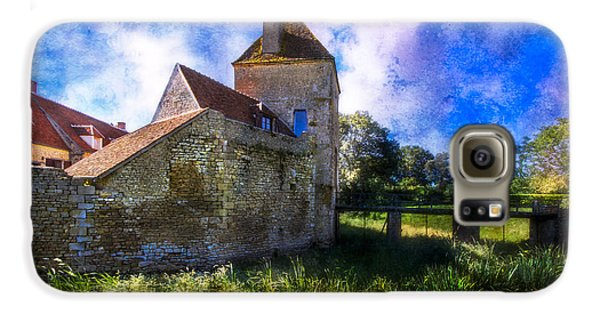 Spring Romance In The French Countryside Galaxy S6 Case by Debra and Dave Vanderlaan