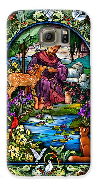 St. Francis Of Assisi Galaxy S6 Case
