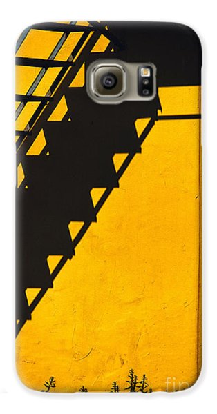 Galaxy S6 Case featuring the photograph Staircase Shadow by Silvia Ganora