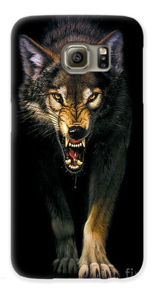 Stalking Wolf Galaxy S6 Case
