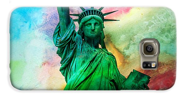 Stand Up For Your Dreams Galaxy S6 Case by Az Jackson