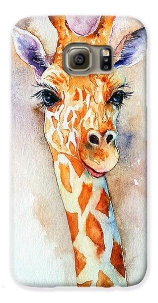 Standing Tall_giraffe Galaxy S6 Case