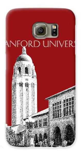 Stanford University - Dark Red Galaxy S6 Case by DB Artist