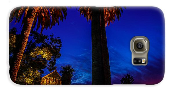 Stanford University Memorial Church At Sunset Galaxy S6 Case by Scott McGuire