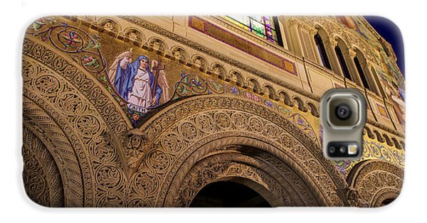 Stanford University Memorial Church Faith Galaxy S6 Case by Scott McGuire