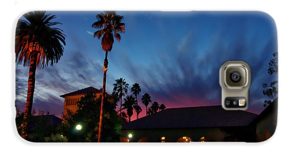 Stanford University Quad Sunset Galaxy S6 Case by Scott McGuire
