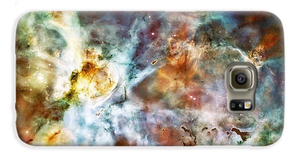 Star Birth In The Carina Nebula  Galaxy S6 Case by Jennifer Rondinelli Reilly - Fine Art Photography